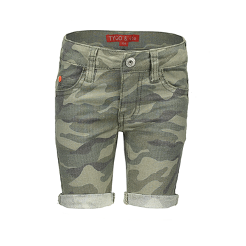 TYGO&vito army short 6628-375
